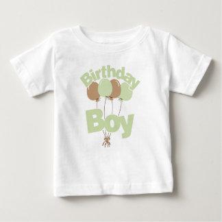 T-shirt Pour Bébé Garçon vert d'anniversaire
