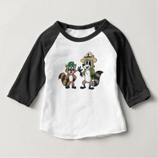 T-shirt Pour Bébé Garde forestière Rick et Ricky de Rick | de garde
