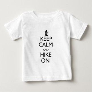 T-shirt Pour Bébé Gardez le calme