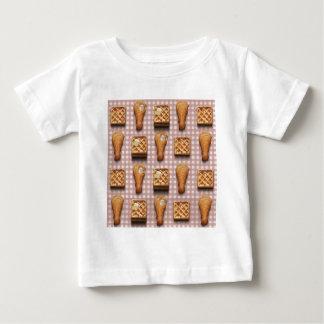 T-shirt Pour Bébé gaufres de poulet de guingan
