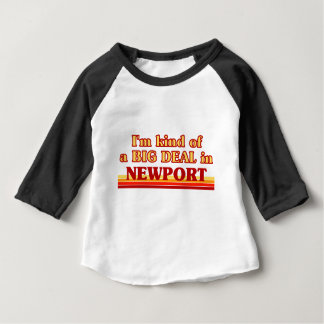 T-shirt Pour Bébé Genre d'I´m d'affaire à Newport