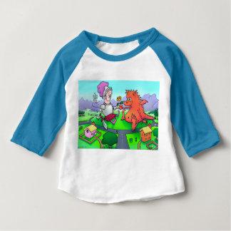 T-shirt Pour Bébé George et le dragon