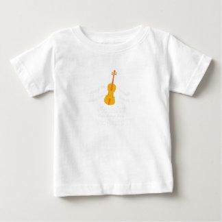 T-shirt Pour Bébé GIF de joueur de violon vous pouvez être un