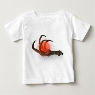 T-shirt Pour Bébé globe de crâne
