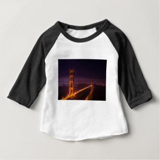 T-shirt Pour Bébé Golden gate bridge la nuit
