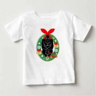T-shirt Pour Bébé gorille de Joyeux Noël