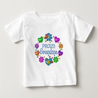 T-shirt Pour Bébé Grand-maman fière
