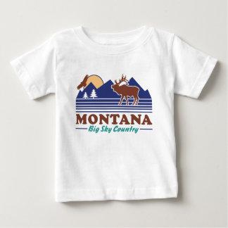 T-shirt Pour Bébé Grand pays de ciel du Montana