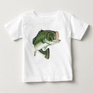 T-shirt Pour Bébé Grande grande basse de bouche