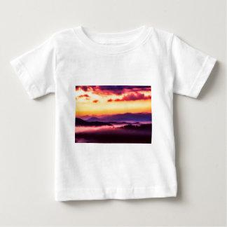 T-shirt Pour Bébé Grandes montagnes de Smokey
