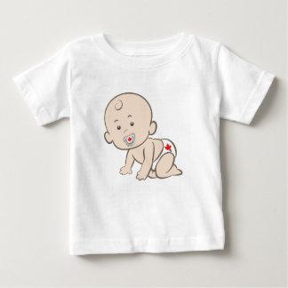 T-shirt Pour Bébé Graphique de rampement de bébé du Canada