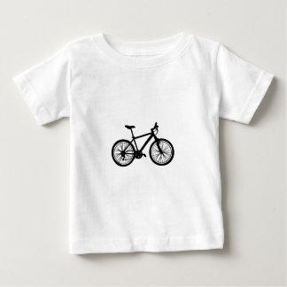T-shirt Pour Bébé Griffonnage tiré par la main simple de bicyclette
