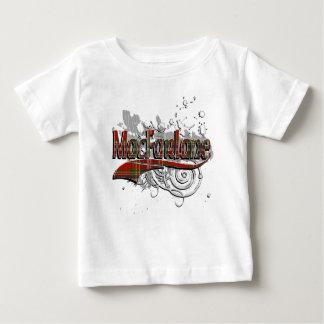T-shirt Pour Bébé Grunge de tartan de MacFarlane