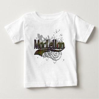 T-shirt Pour Bébé Grunge de tartan de MacLellan