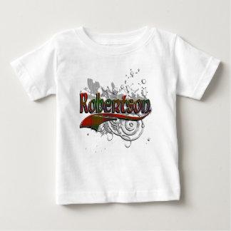 T-shirt Pour Bébé Grunge de tartan de Robertson