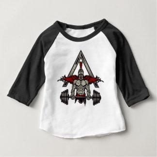 T-shirt Pour Bébé Guerrier spartiate