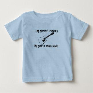 T-shirt Pour Bébé Guitare isolée