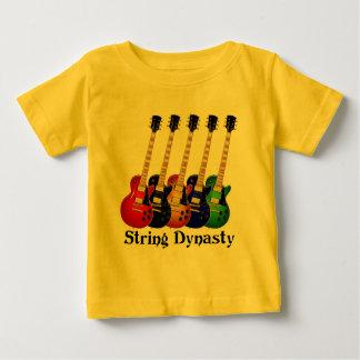 T-shirt Pour Bébé Guitares électriques de dynastie de ficelle