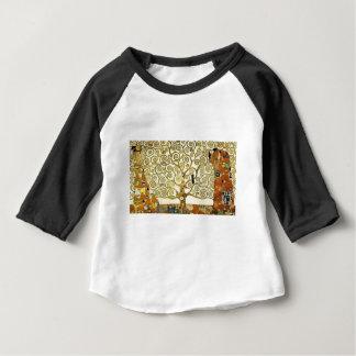 T-shirt Pour Bébé Gustav Klimt - l'arbre de la peinture de la vie