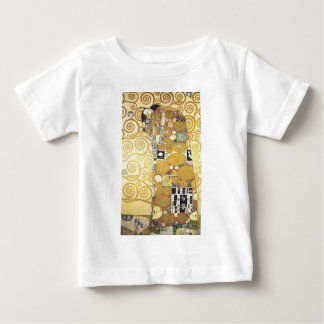 T-shirt Pour Bébé Gustav Klimt - l'étreinte - illustration classique