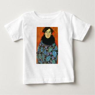 T-shirt Pour Bébé Gustav Klimt - portrait de Johanna Staude
