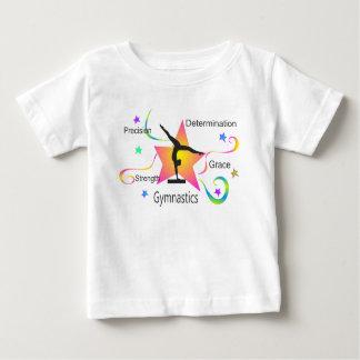 T-shirt Pour Bébé Gymnastique - détermination Grac de résistance à