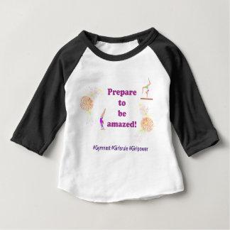 T-shirt Pour Bébé Gymnastique - préparez pour être stupéfié !