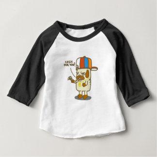 T-shirt Pour Bébé Habillement de bébé de la vie de carlins 3/4