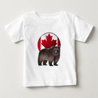 T-shirt Pour Bébé Habitat canadien