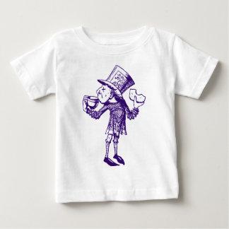 T-shirt Pour Bébé Haigha (chapelier fou) a encré le pourpre