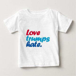 T-shirt Pour Bébé Haine d'atouts d'amour