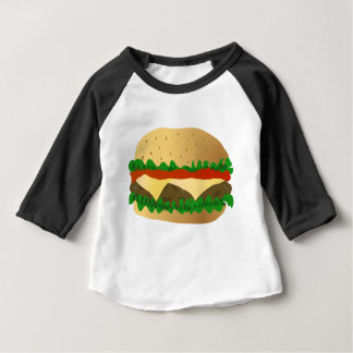 T-shirt Pour Bébé Hamburger