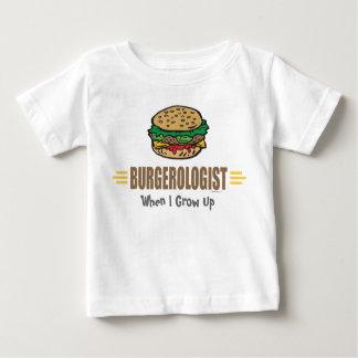 T-shirt Pour Bébé Hamburger drôle