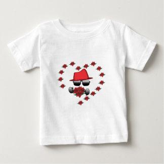 T-shirt Pour Bébé HatMan Robbot Valantine