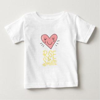 T-shirt Pour Bébé Hausse et éclat