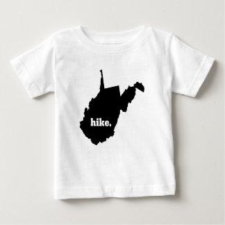T-shirt Pour Bébé Hausse la Virginie Occidentale