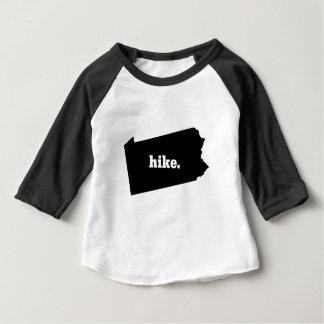 T-shirt Pour Bébé Hausse Pennsylvanie