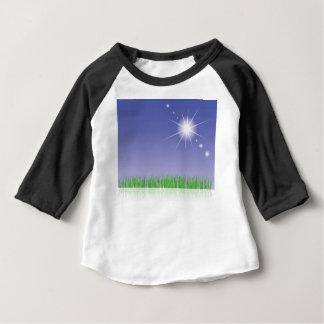 T-shirt Pour Bébé Herbe verte