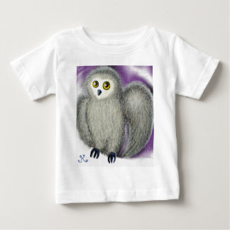 T-shirt Pour Bébé Hérisse le hibou