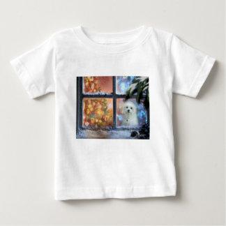 T-shirt Pour Bébé Hermes le maltais