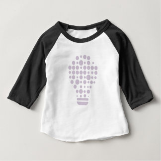 T-shirt Pour Bébé Hexahedrons à l'intérieur d'ampoule d'idée