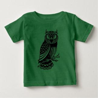 T-shirt Pour Bébé Hibou à cornes
