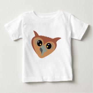 T-shirt Pour Bébé Hibou bigleux