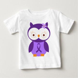 T-shirt Pour Bébé Hibou de fibromyalgie