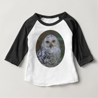 T-shirt Pour Bébé Hibou de Milou, Schnee-Eule 02_rd