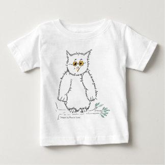 T-shirt Pour Bébé hibou, Designed by Plume de Souris