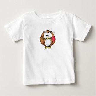 T-shirt Pour Bébé Hibou et une chemise de bébé de rose