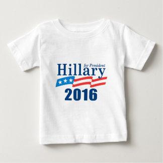 T-shirt Pour Bébé Hillary Clinton 2016