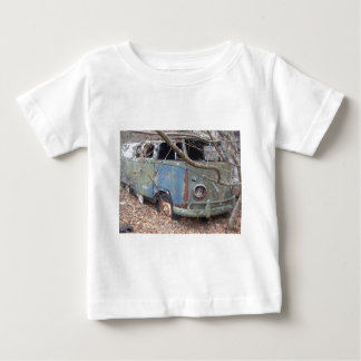 T-shirt Pour Bébé Hippie Van