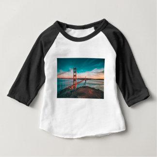 T-shirt Pour Bébé Horizon de golden gate bridge